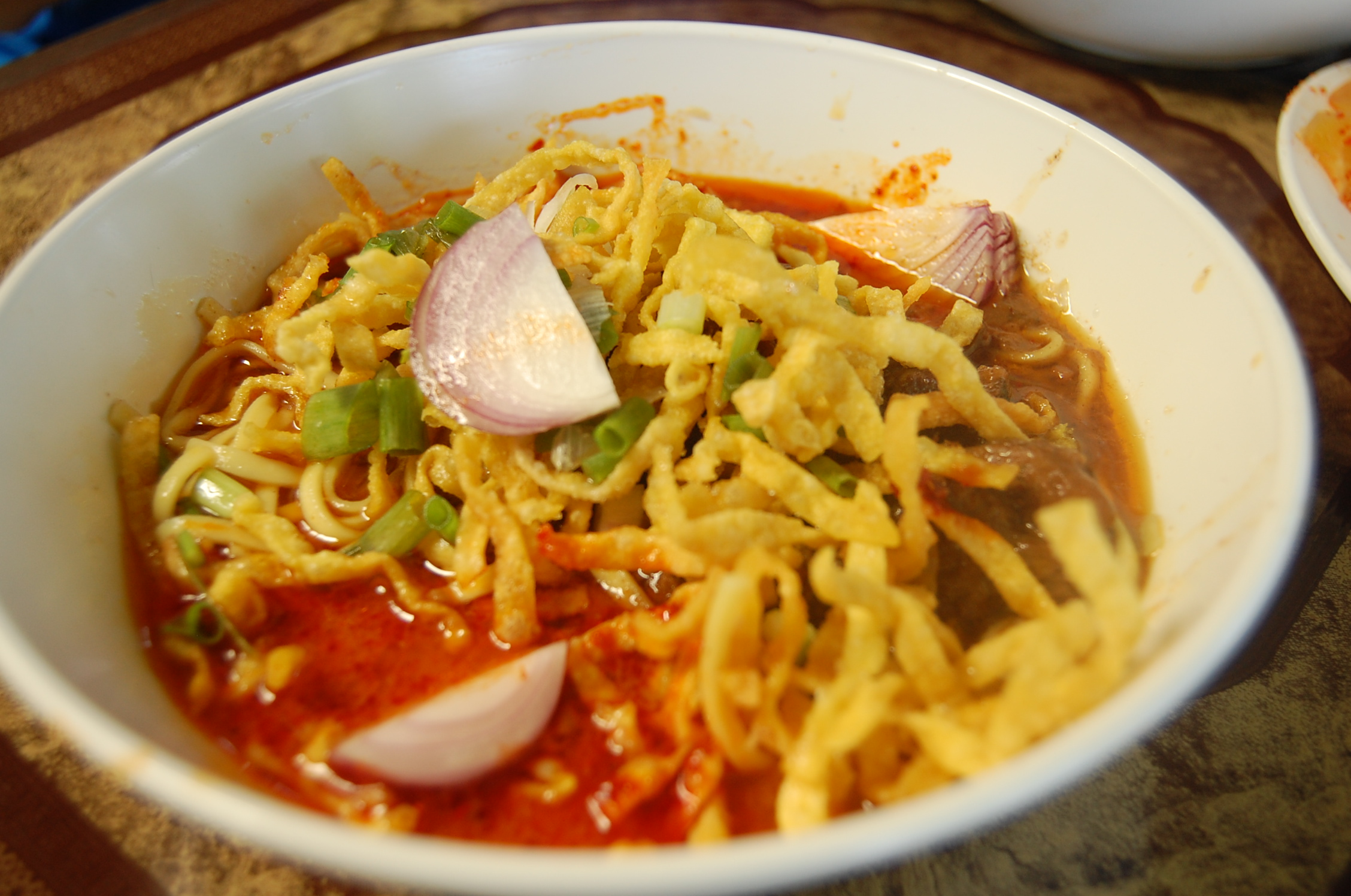 sauce egg noodles with rich chicken curry sauce khao soi recipes khao ...